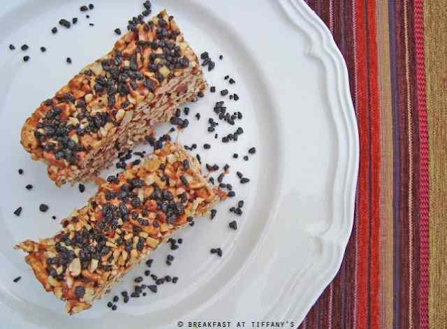 Torta con orzo soffiato / cake with puffed barley