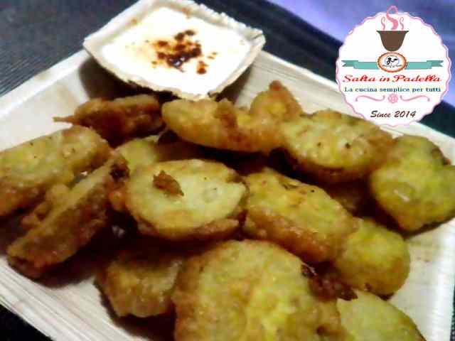 Ricetta: Pomodori verdi fritti con farina di semola