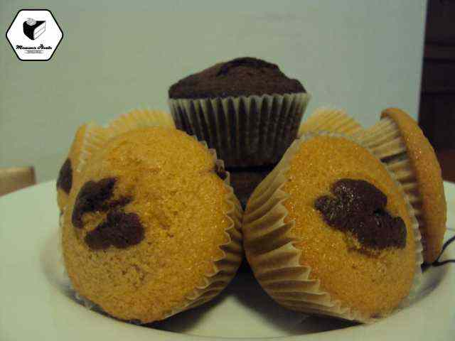 Ricetta: Muffin al doppio cioccolato