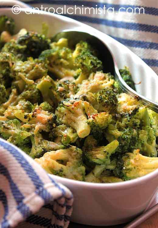 Ricetta: Broccoli Gratinati con Acciughe e Fontina