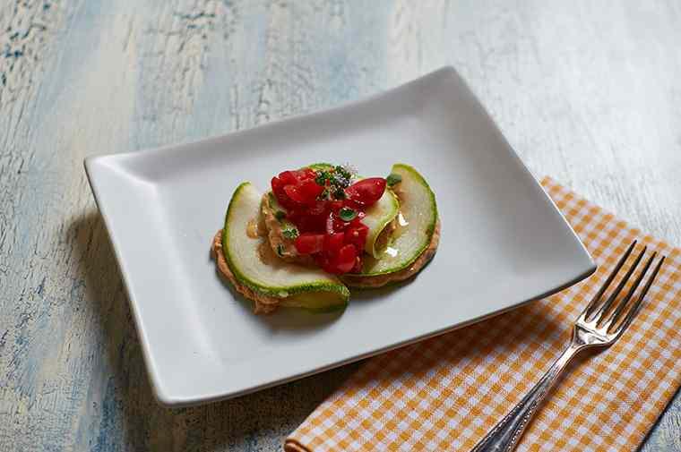 Ricetta: Ravioli di zucchina al pomodoro