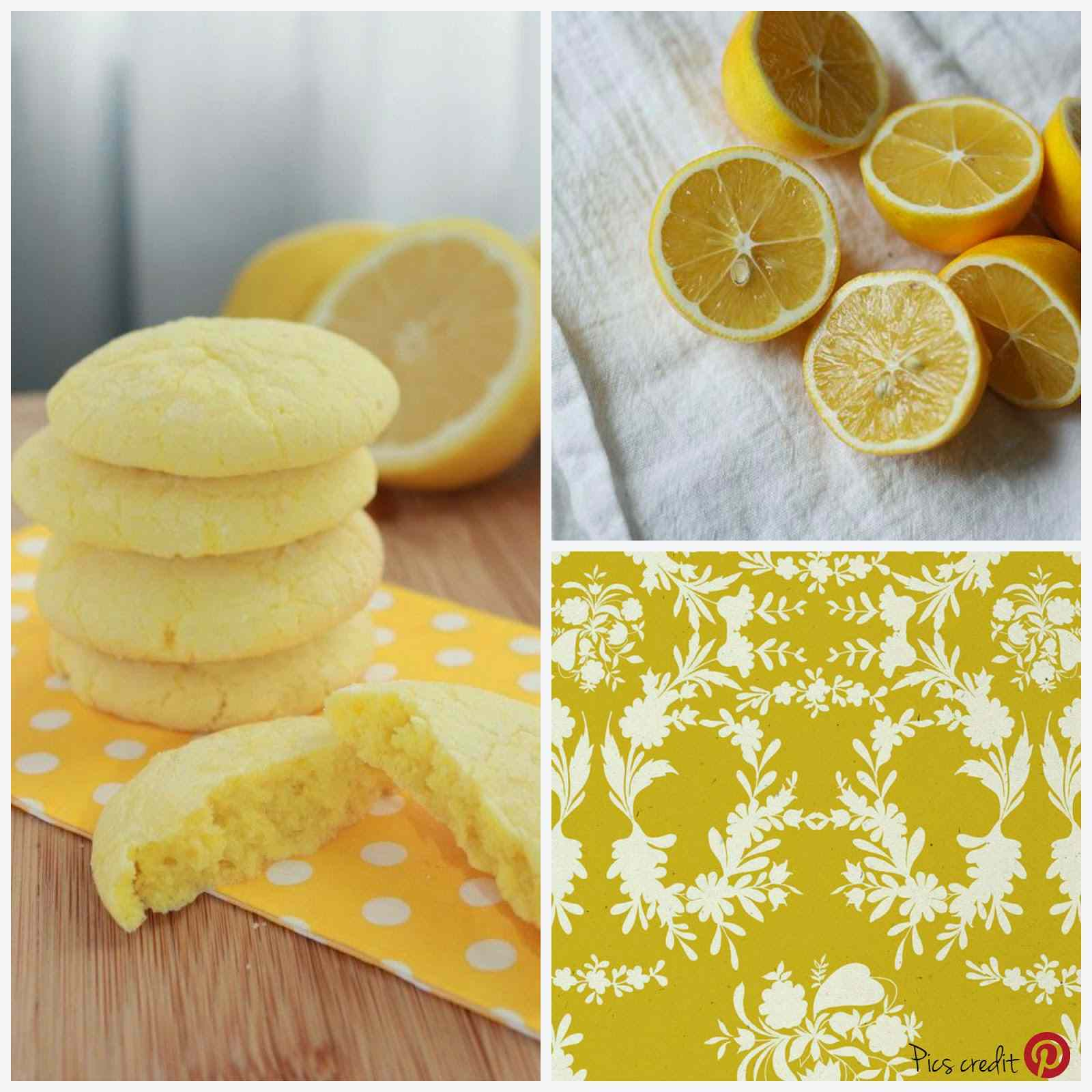Ricetta: Biscotti morbidi al limone / soft lemon cookies
