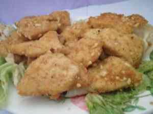 Ricetta: Mini cotolette di pollo croccanti con nocciole