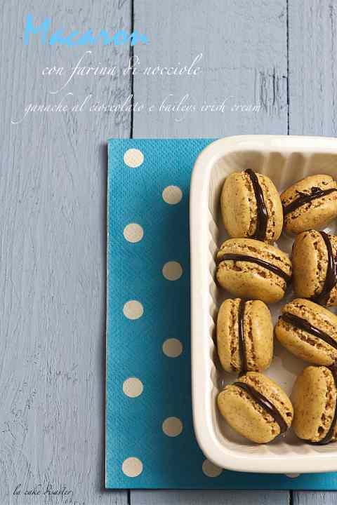 Macaron con farina di nocciole