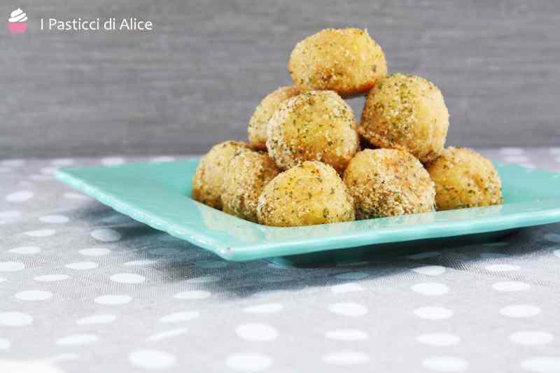 Ricetta: Polpette di patate stracchino e quinoa