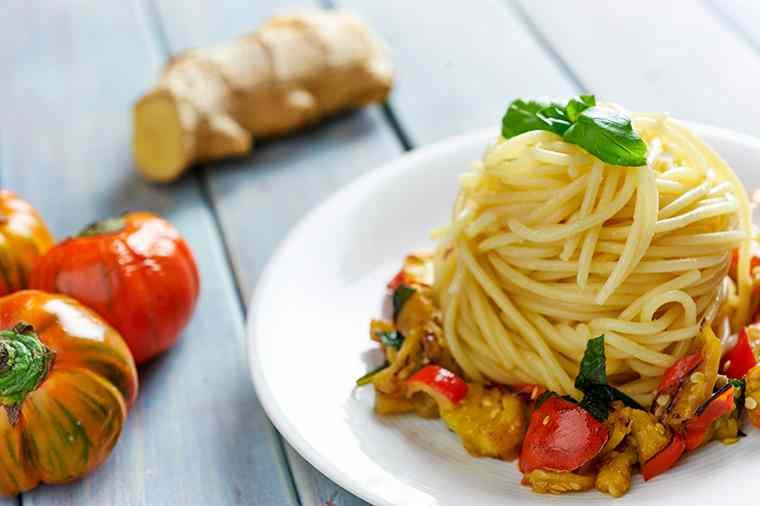 Ricetta: Spaghetti alla melanzana rossa
