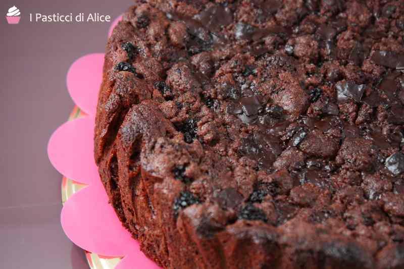 Ricetta: Crumb cake cioccolato e more
