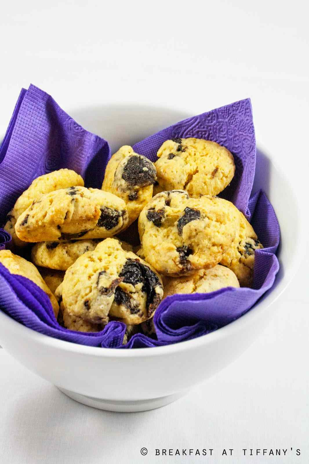 Ricetta: Cookies al kamut con prugne secche / khorasan wheat cookies with dried plums