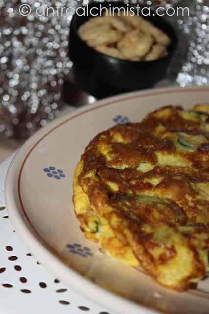 Ricetta: Frittata di Zucchine e Cialde di Grana Padano