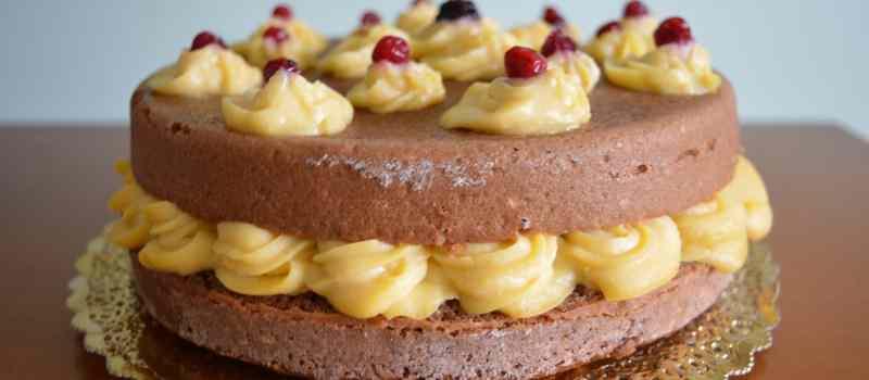 Ricetta: Naked cake cacao e vaniglia