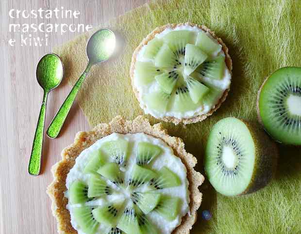 Ricetta: Crostatine mascarpone e kiwi