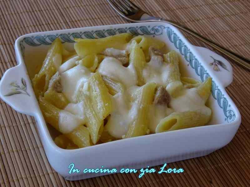 Ricetta: Carbonara al forno con mozzarella