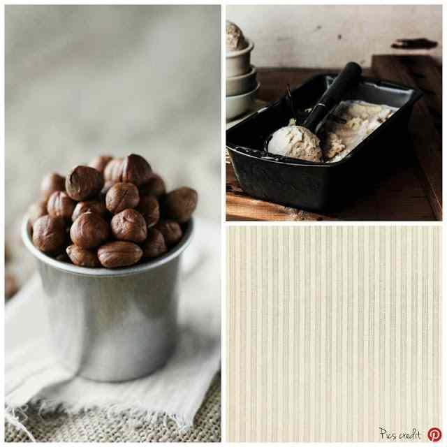 Ricetta: Gelato alla nocciola / walnut ice-cream