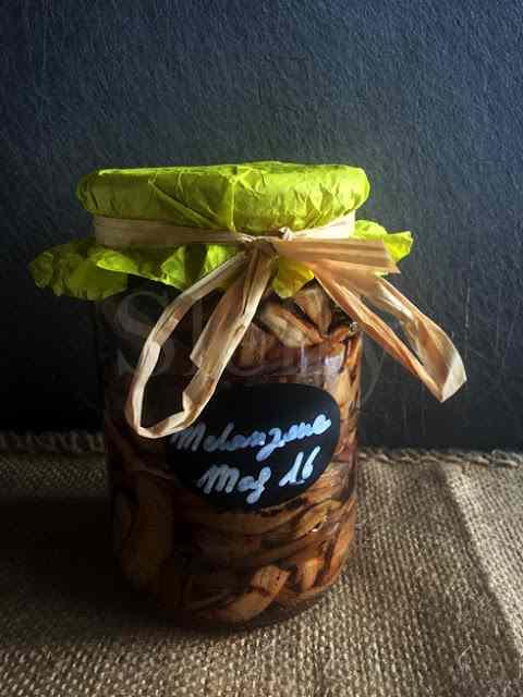 Ricetta: Rendez-vous  - melanzane grigliate agrodolci sottaceto con zenzero, peperoncino, menta e aglio