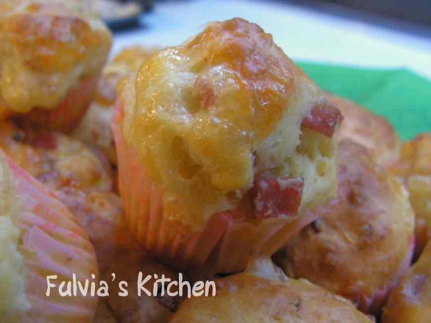 Mini muffin salati gusti vari