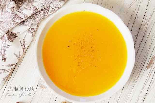 Ricetta: Crema di zucca col bimby