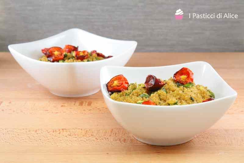 Ricetta: Quinoa e zucchine