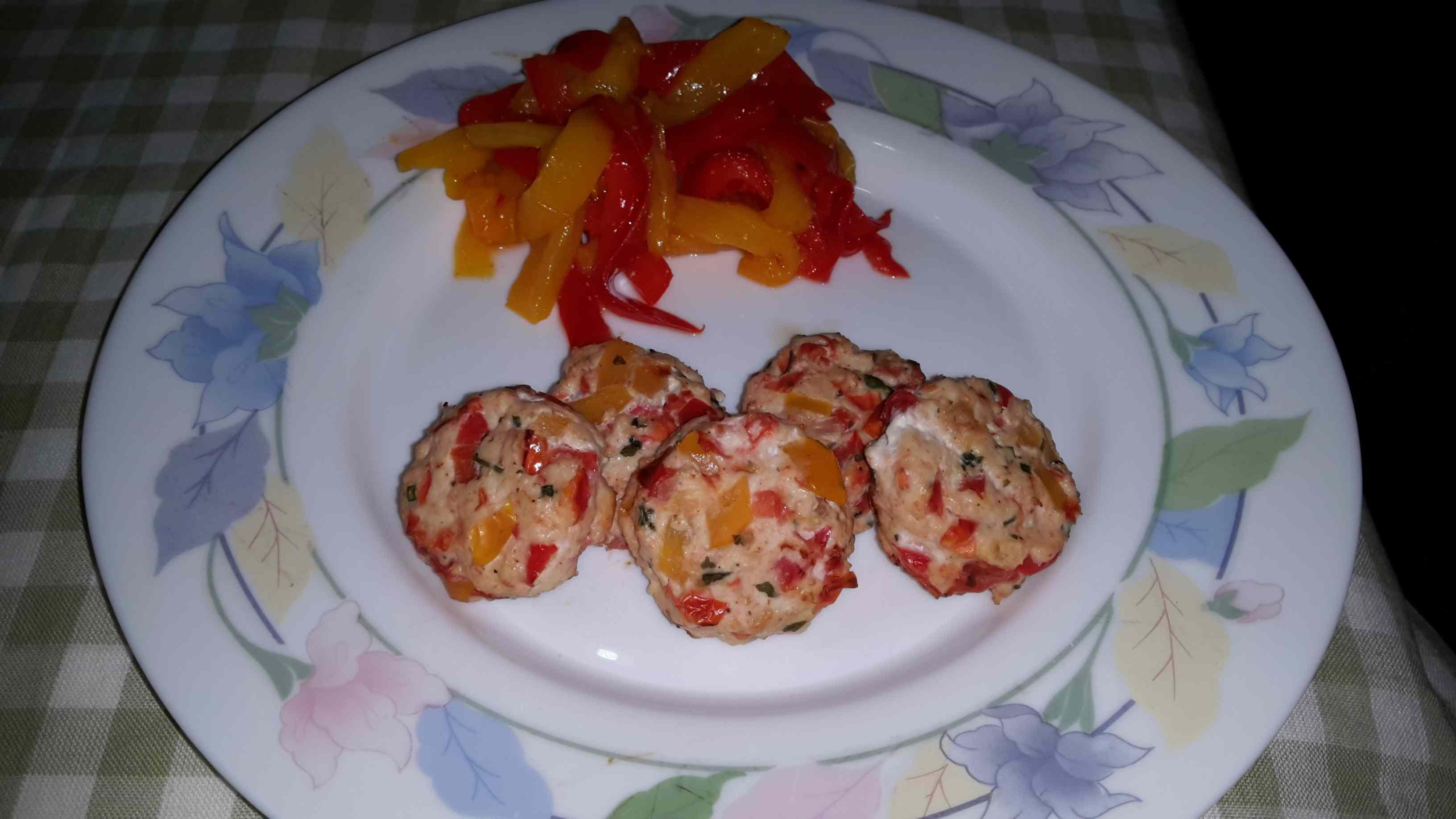 Ricetta: Polpettine peperoni e pomodorini