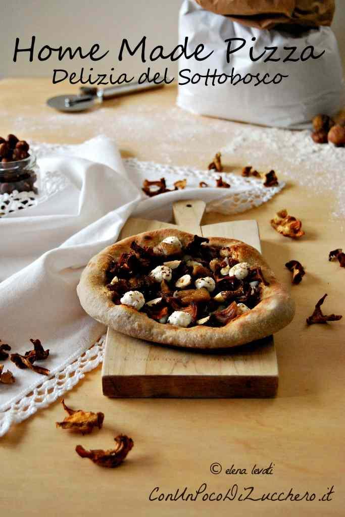 Ricetta: Pizza autunnale fatta in casa