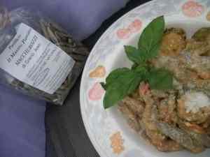 Ricetta: Maccherozzi di grano arso con ricotta e zucchine
