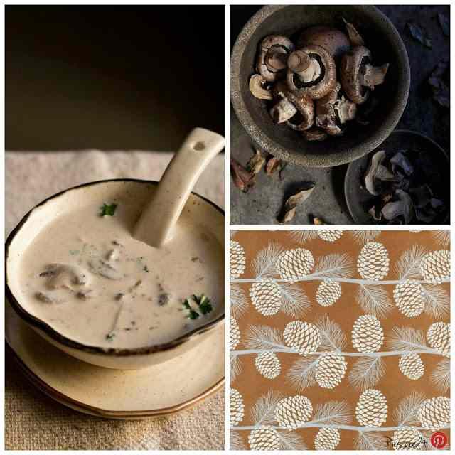 Ricetta: Zuppa di funghi / mushrooms soup recipe