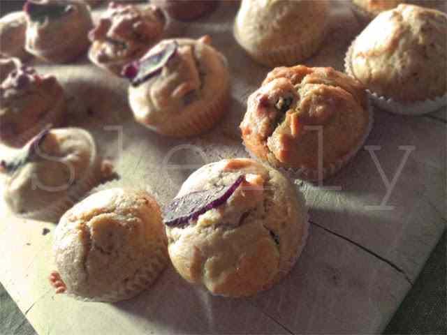 Ricetta: Piemontole\' - muffin chorizo e nocciole con fonduta di rashera