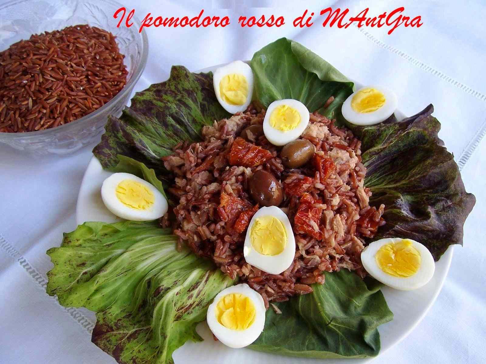 Ricetta: Insalata di riso rosso  (riz rouge)) della camargue