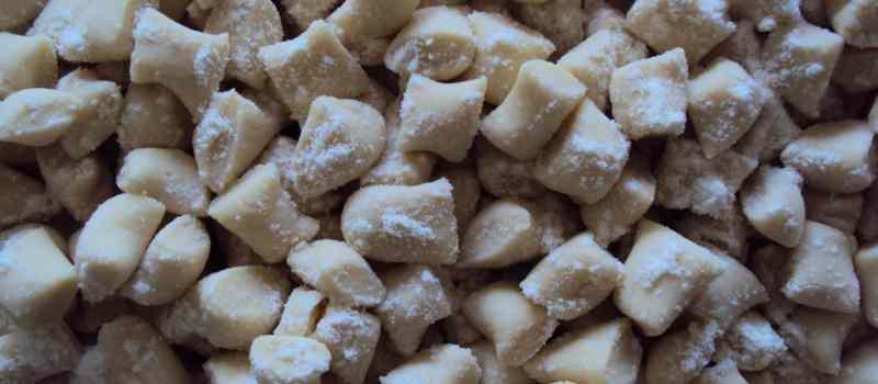 Ricetta: Gnocchetti acqua e farina