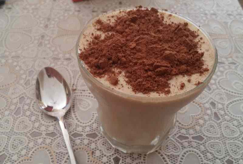 Ricetta: Crema fredda al cappuccino