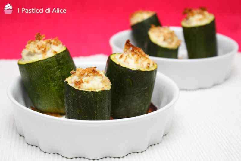 Ricetta: Tronchetti di zucchina gratinati