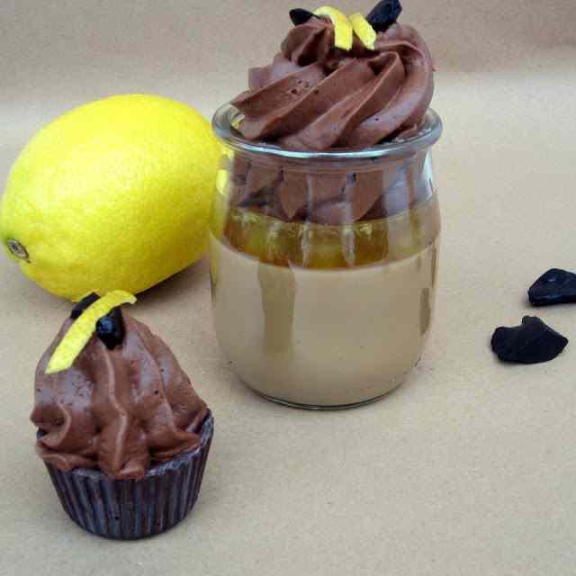 Ricetta: bicchierini liquirizia limone e cioccolato