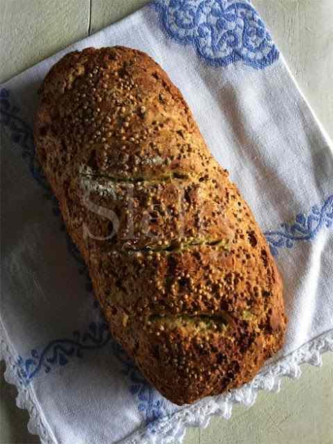 Ricetta: Soda bread reloaded 3 - pane senza lievito con pepe verde e senape