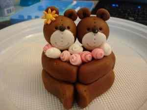 Torta orsetti di san valentino