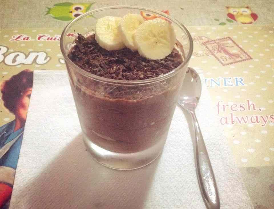 Ricetta: Mousse proteica cacao e banana