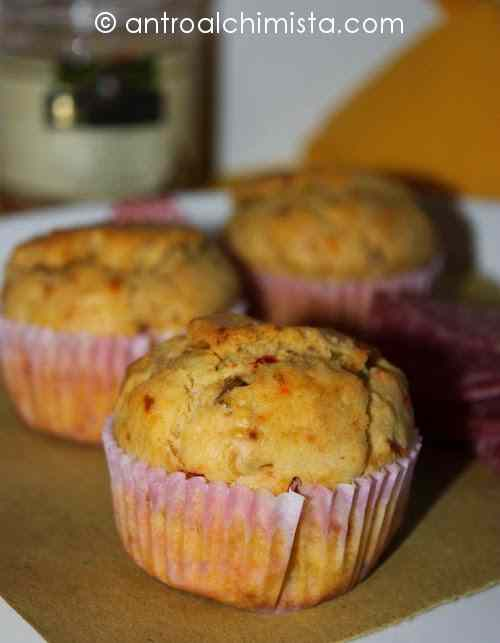 Ricetta: Muffins con Pate di Carciofini e Pomodorini