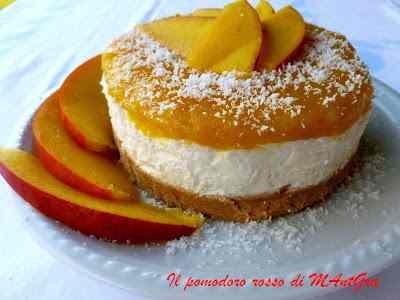 Ricetta: Cheesecake al cocco e mango