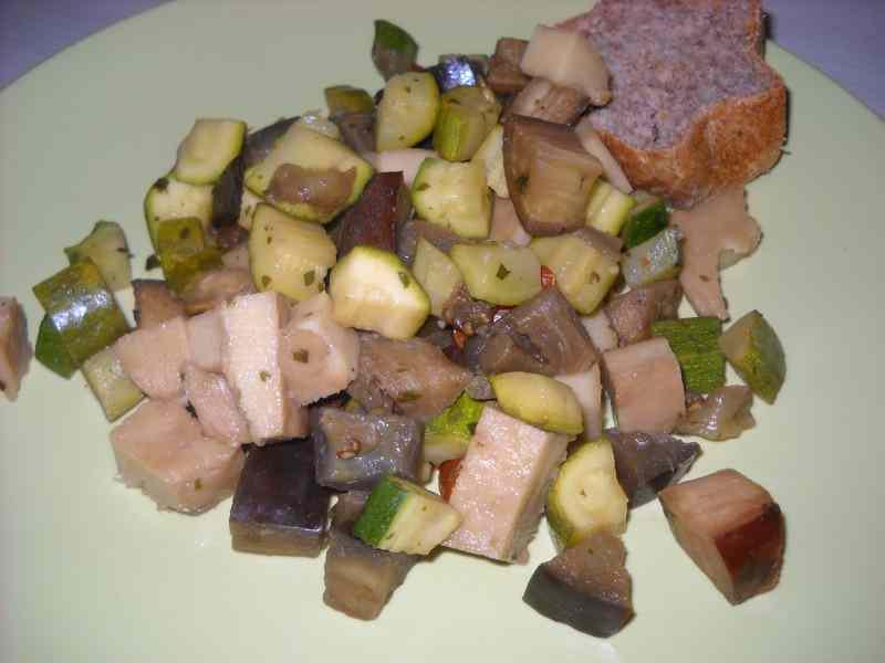 Ricetta: Seitan con verdurine