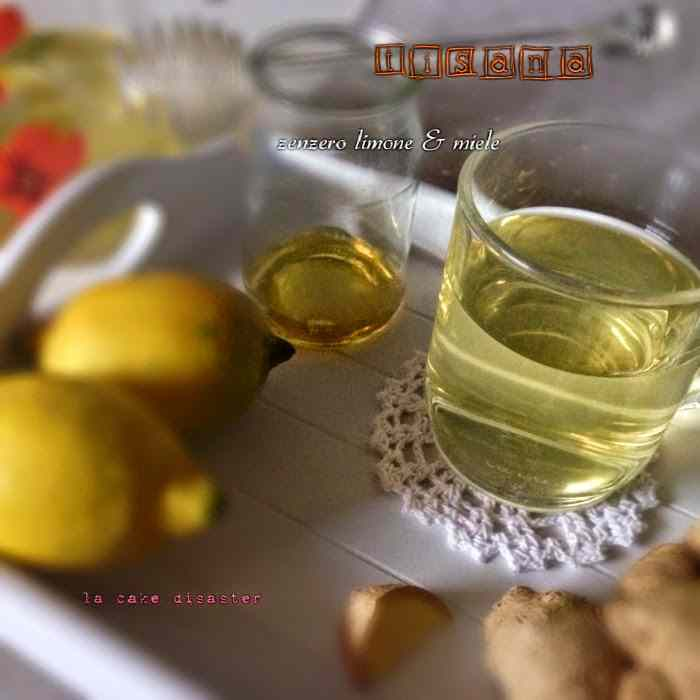Ricetta: Tisana zenzero limone miele