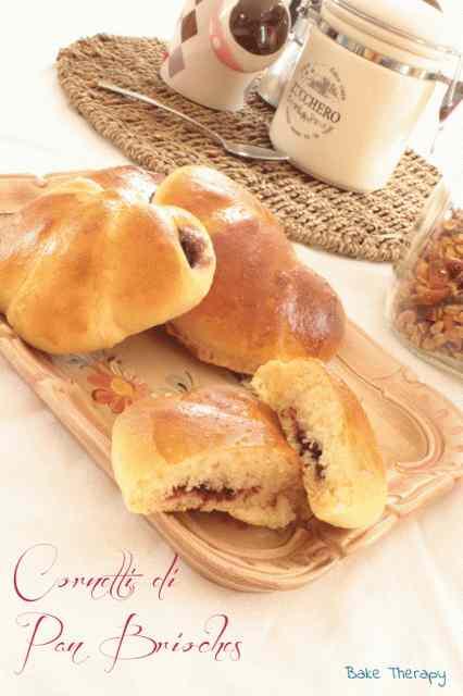 Ricetta: Cornetti di pan brioches