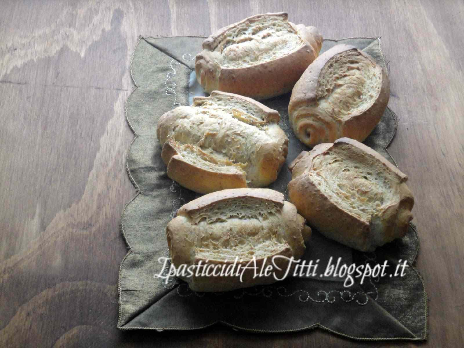 Mantovanine con grano spezzato