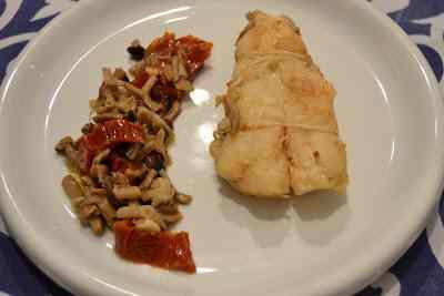Ricetta: Coda di rospo con chiodini e pomodori secchi