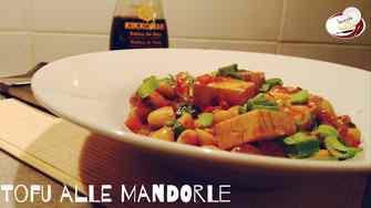 Tofu alle mandorle