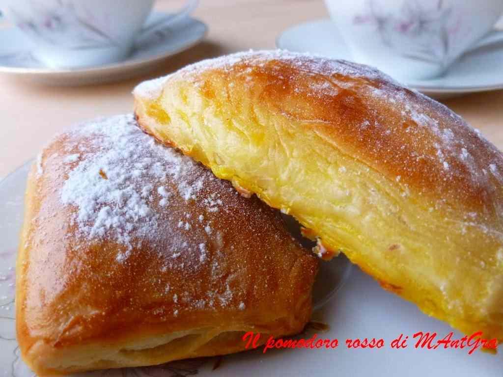 Ricetta: Fagottini dolci con lievito madre