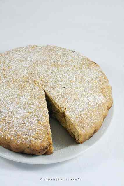 Ricetta: Torta alle mandorle garfagnina / garfagnina tuscan almond cake recipe