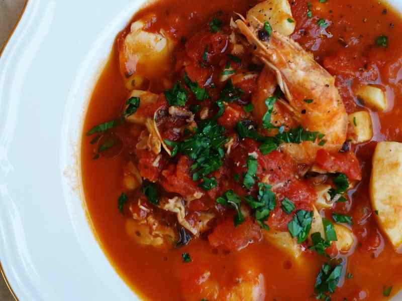 Ricetta: Zuppa di pesce 'a modo mio'
