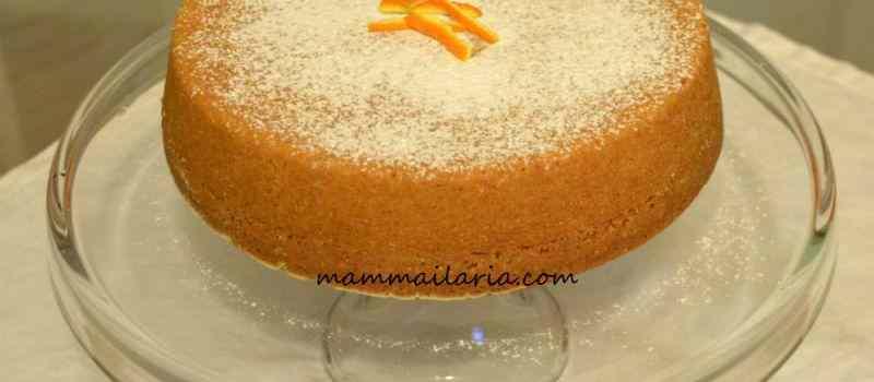 Torta all\'arancia