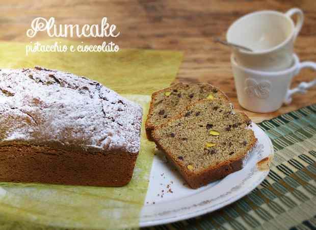Ricetta: Plumcake pistacchio e cioccolato