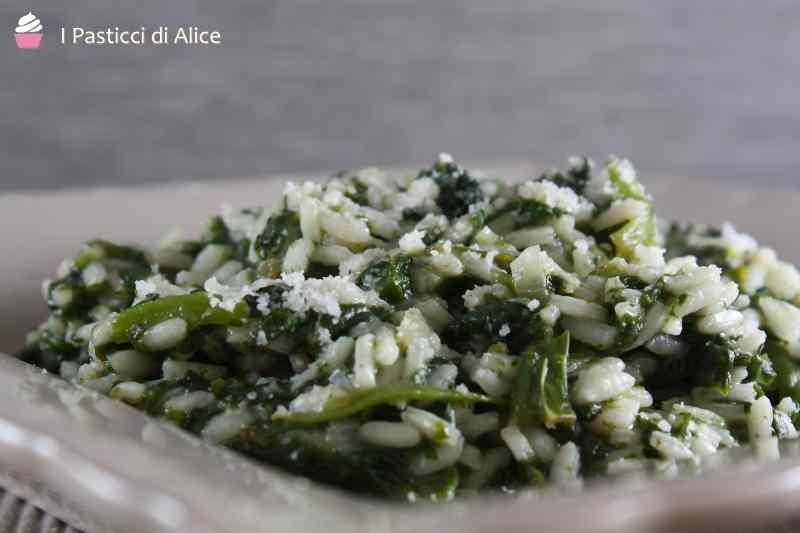 Ricetta: Risotto agli spinaci