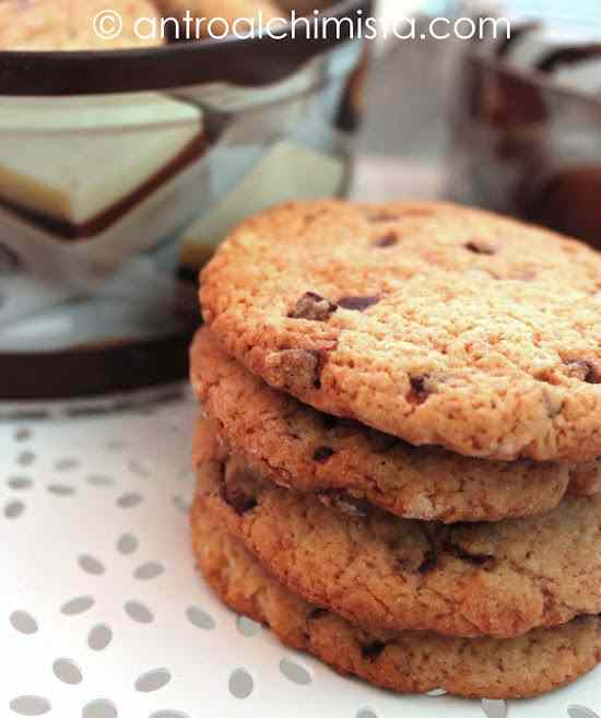 Ricetta: Cookies con Gocce di Cioccolato