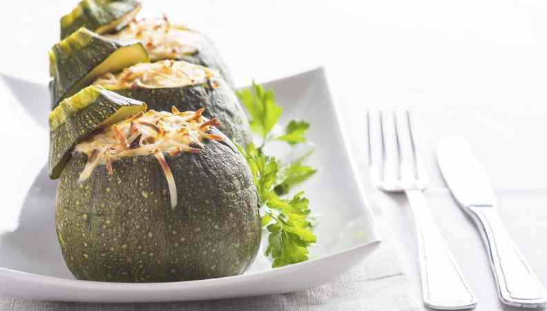 Ricetta: Zucchine ripiene vegetariane